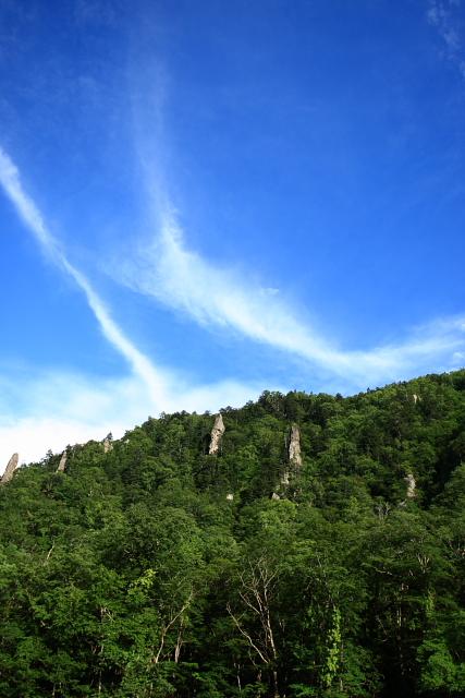 天人峡 見返り岩