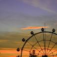旭山の夕景